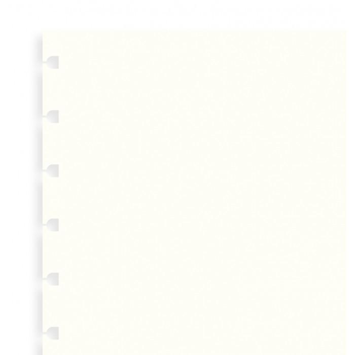 Filofax - A5 Plain Notebook Refill - White (32 Sheet)