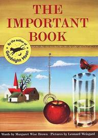 The Important Book by Margaret Wise Brown
