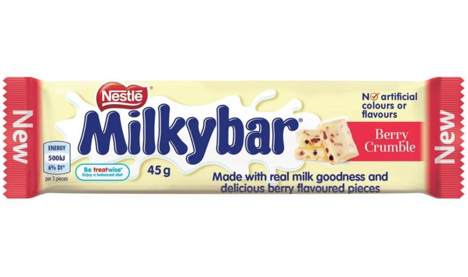 MilkyBar Berry Crumble - 45g Bar (36 Pack) image