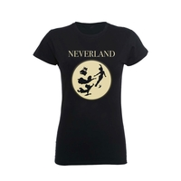 Disney: Peter Pan Moon Silhouettes T-Shirt (Large)