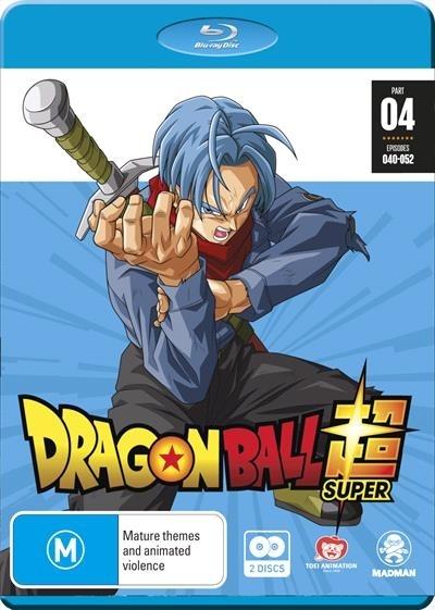 Dragon Ball Super Part 4 (eps 40-52) on Blu-ray