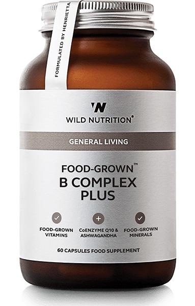 Wild Nutrition Food Grown B Complex Plus (60 Caps)