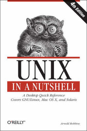 Unix in a Nutshell by Arnold Robbins image