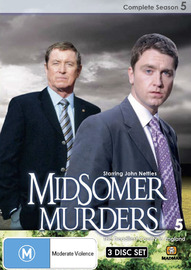 Midsomer Murders - Complete Season 5 (Single Case ) on DVD