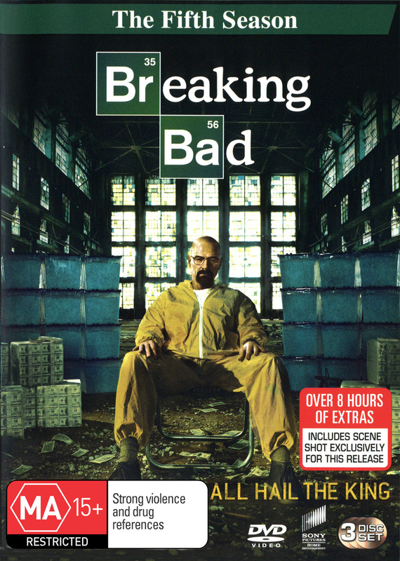 Breaking Bad Season 5 Dvd On Sale Now At Mighty Ape Australia