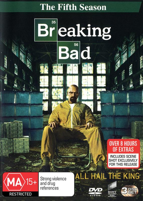 Breaking Bad Season 5 Dvd On Sale Now At Mighty Ape Australia