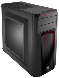 Corsair Carbide SPEC-02 Red LED Mid Tower Gaming Case image