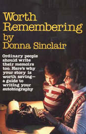 Worth Remembering by Donna Sinclair image