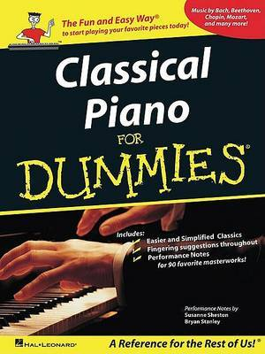 Classical Piano Music for Dummies by Susanne Sheston