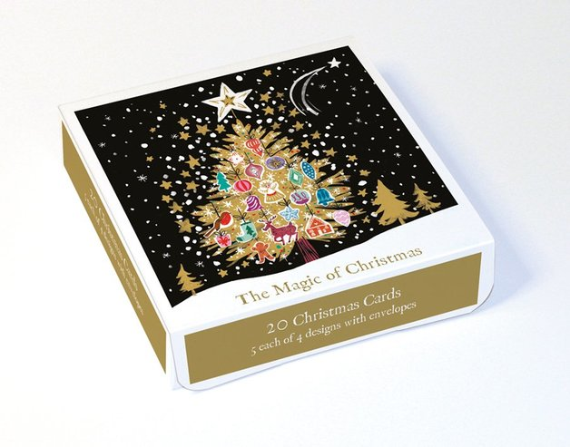 Museums & Galleries: Magic of Christmas (Box of 20)