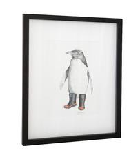 Framed Art Print - Penguin Pete