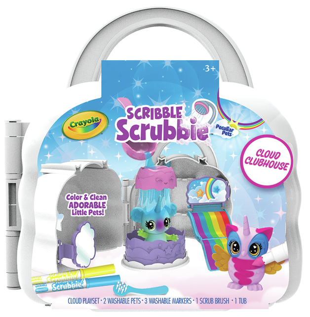Crayola: Scribble Scrubbies - Cloud Clubhouse