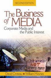 The Business of Media by David R. Croteau image