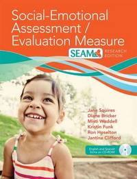 Social Emotional Assessment Measure (Seam) W/ CD, Research Edition by Jane Squires