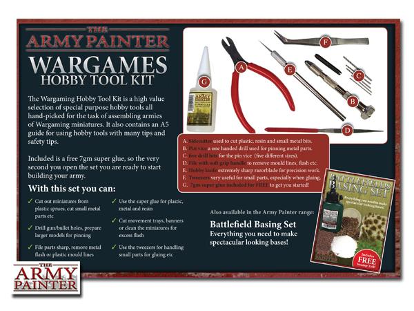Army Painter Wargames Hobby Tool Kit image