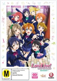 Love Live! School Idol Project - Season 1 on DVD