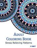 Adult Coloring Book: Stress Relieving Patterns by Coloring Books For Adults by V Art