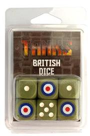 TANKS:British Dice Set (6pc)