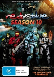Red vs. Blue - Season Ten on DVD