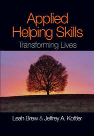 Applied Helping Skills by Leah M Brew image