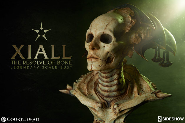 Court of the Dead - Xiall the Resolve of Bone - 1:2 Scaled Legendary Bust