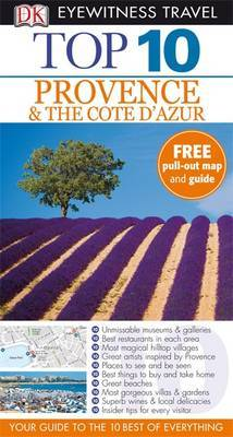DK Eyewitness Top 10 Travel Guide: Provence & the Cote d'Azur by Anthony Peregrine