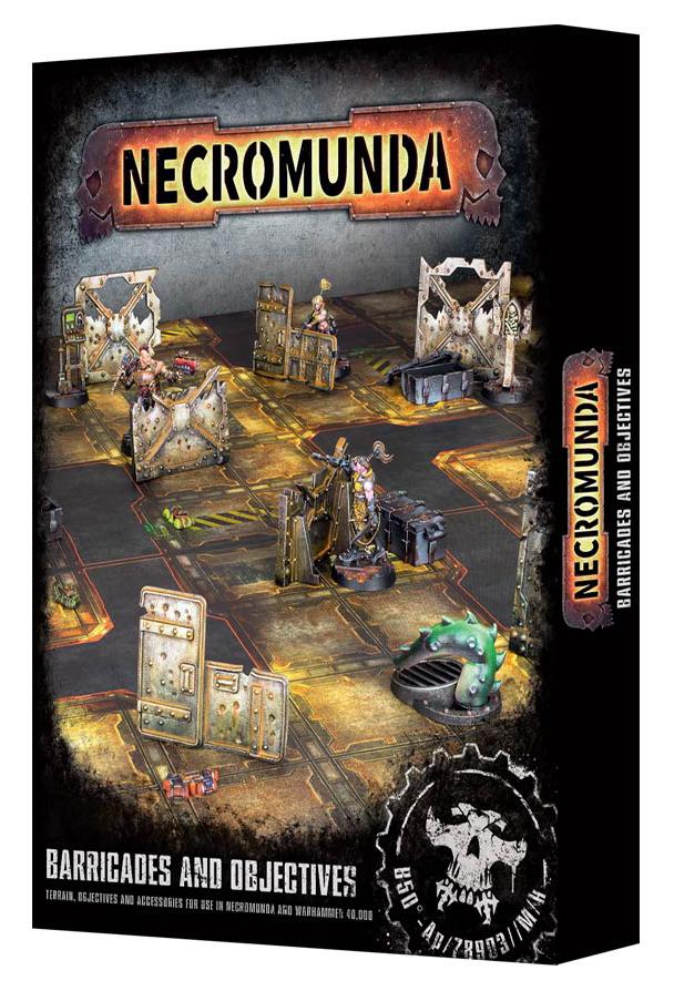Necromunda: Barricades and Objectives image