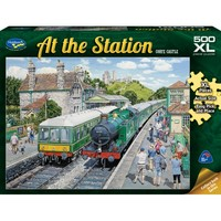 Holdson XL: 500 Piece Puzzle - At The Station S2 (Corfe Castle)