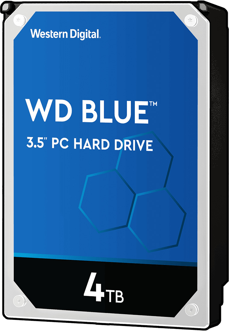 4TB WD Blue HDD image