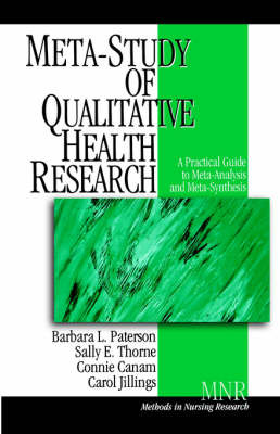 Meta-Study of Qualitative Health Research by Barbara L. Paterson image