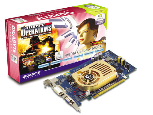 Gigabyte Graphics Card NVIDIA GeForce 6600 GT 128M PCIE
