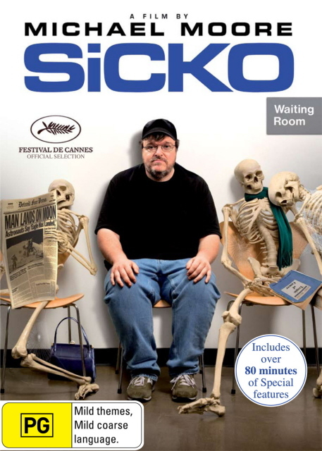Sicko on DVD