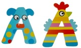 Tatiri Alphabet Letter Crazy Animal - A