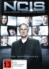 NCIS - The Tenth Season on DVD