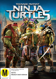 Teenage Mutant Ninja Turtles on DVD