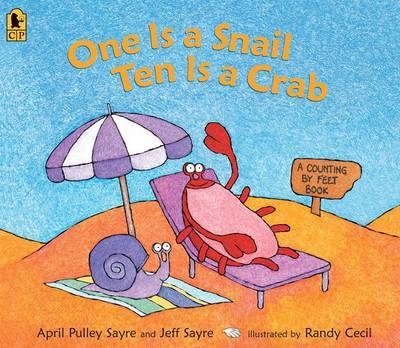 One Is A Snail, Ten Is A Crab Big Book by Pulley Sayre A image