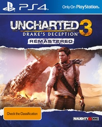 Uncharted 3: Drake's Deception Re-mastered for PS4