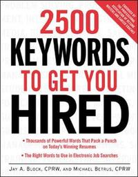 2500 Keywords to Get You Hired by Jay A Block image