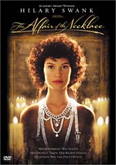 The Affair Of The Necklace on DVD
