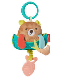 Skip Hop: Camping Cubs Jitter Bear Stroller Toy