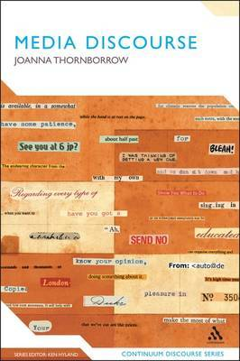 Media Discourse by Joanna Thornborrow
