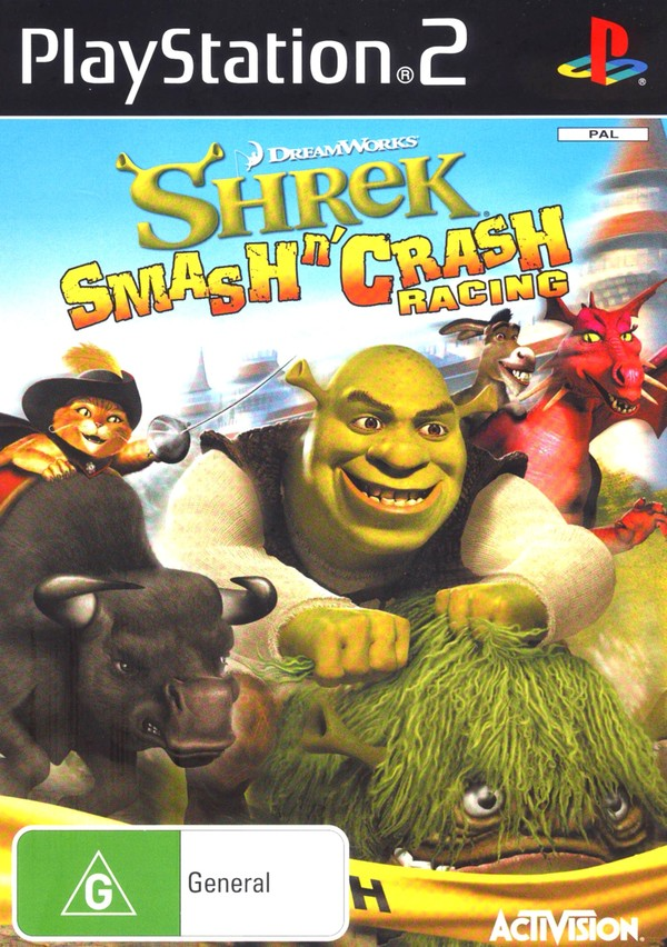 Shrek Smash 'n' Crash screenshot