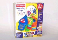 Fisher Price Laugh & Learn Learning Keys image