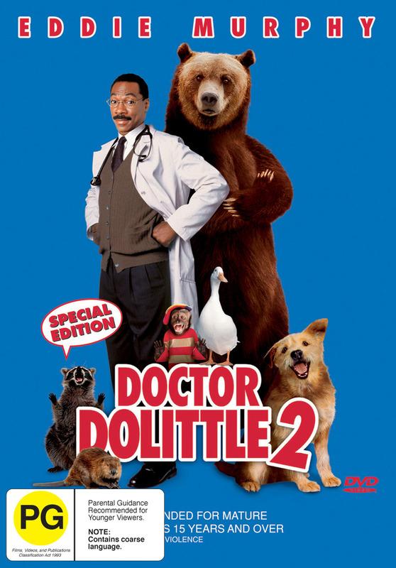 Dr Dolittle 2 on DVD