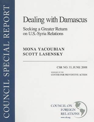 U.S.-Syria Relations by Mona Yacoubian