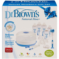 Dr Brown's Deluxe Newborn Feeding Set - Wide Neck