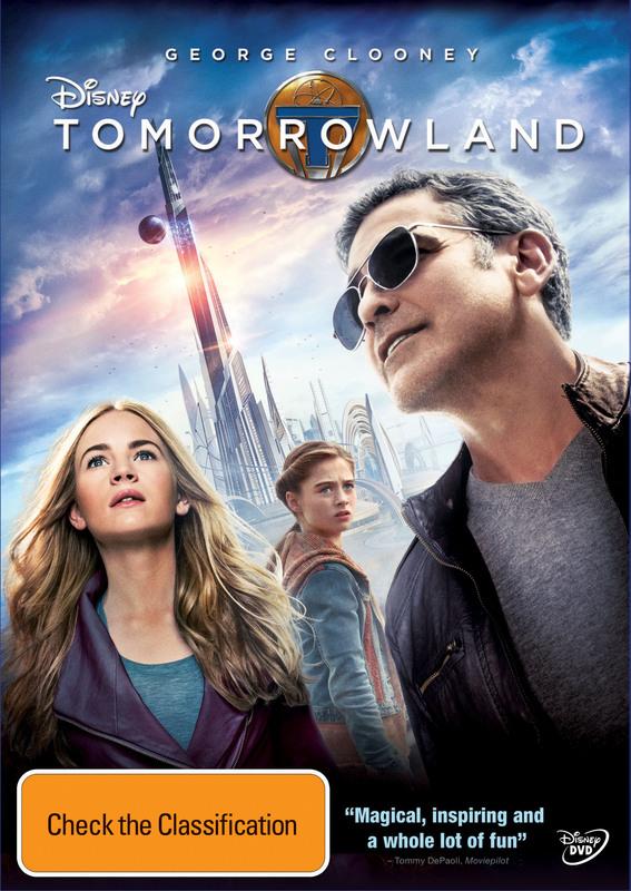 Tomorrowland on DVD