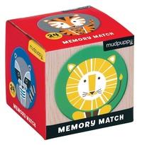 Mudpuppy: Mini Memory Game - Geometric Animals