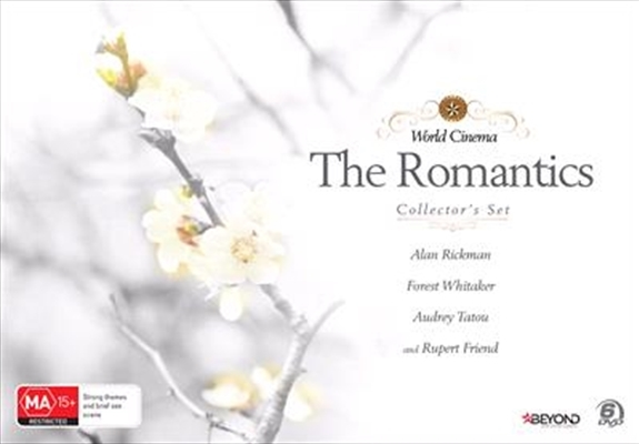 World Cinema: The Romantics Collector's Set on DVD image