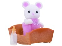 Sylvanian Families: White Mouse Baby